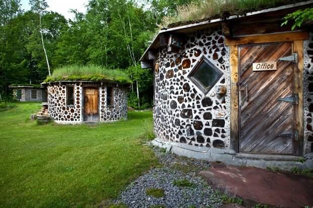 Экологические домики, которые снизят уровень потребления энергетических и материальных ресурсов.