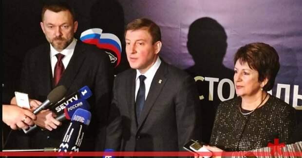 Турчак едет в Севастополь заключать предвыборный союз с Развожаевым