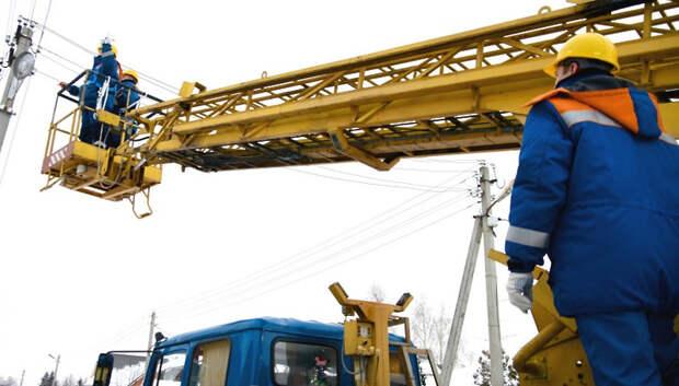 «Мособлэнерго» завершило капремонт 272 км линий электропередачи в области