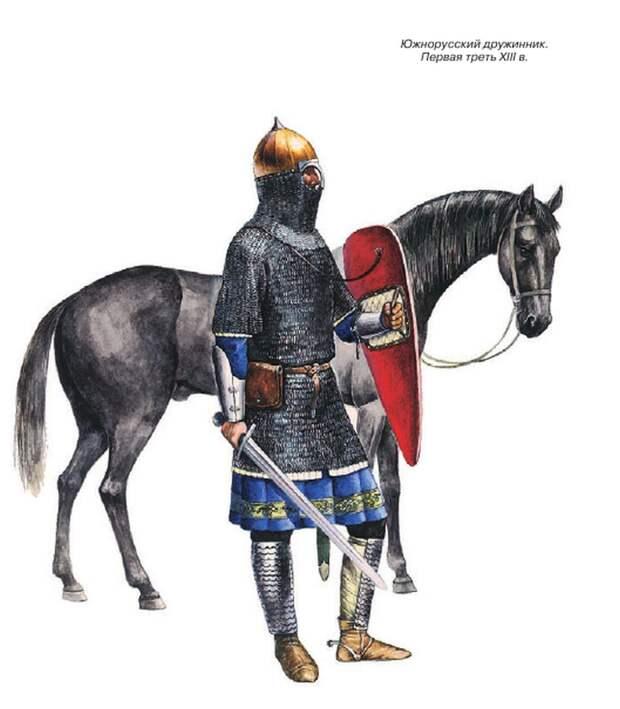 Русская конница. 1220 — 1240 гг.