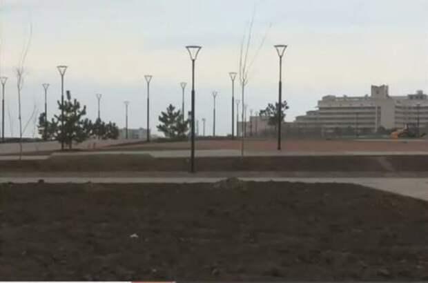 В Саках на 90% завершили строительство набережной