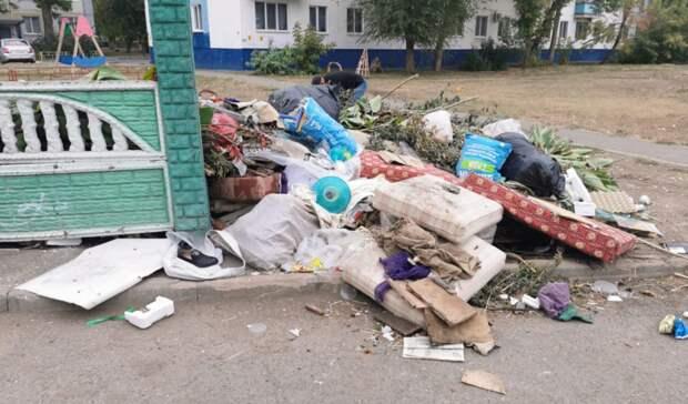 ООО«Природа» объяснила, почему переполнены мусорки водворах оренбуржцев