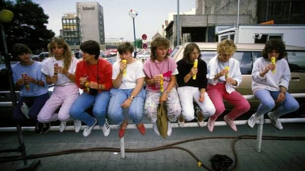 Молодежь ГДР 1980-х