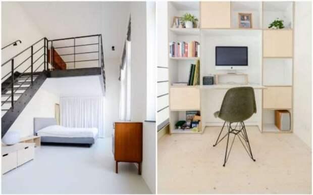 В Амстердаме старую школу преобразовали в 10 квартир для семей с детьми