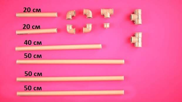 Полезная идея использования остатков ПВХ труб
