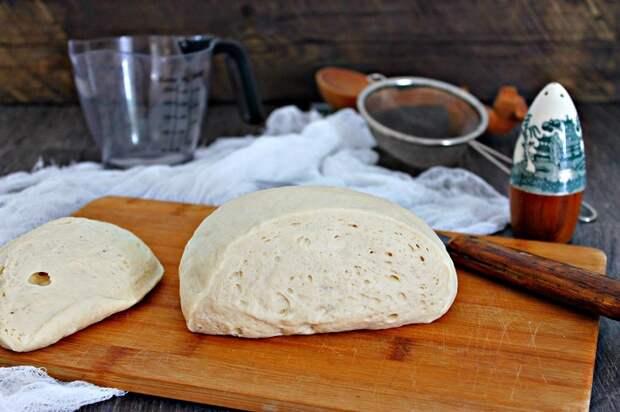 постное дрожжевое тесто для пирожков в духовке