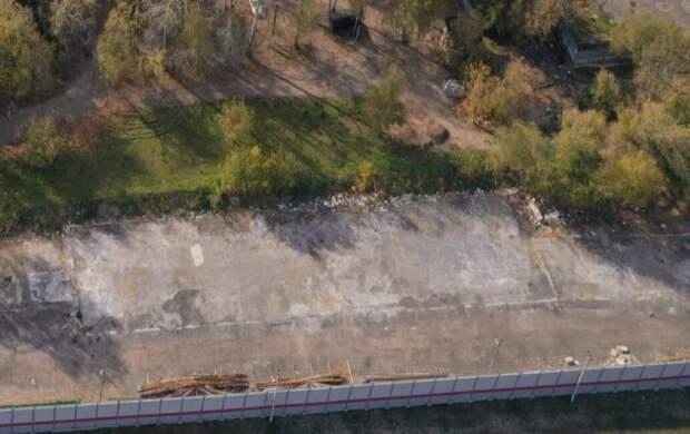 Вблизи станции МЦК «Панфиловская» снесли незаконный ангар