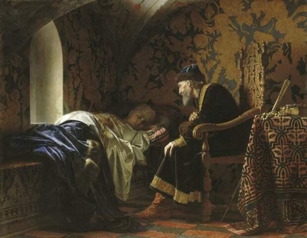 Зачем Иван Грозный убил своего сына XVI век, Мифы и факты, Монархи и правители, история, россия