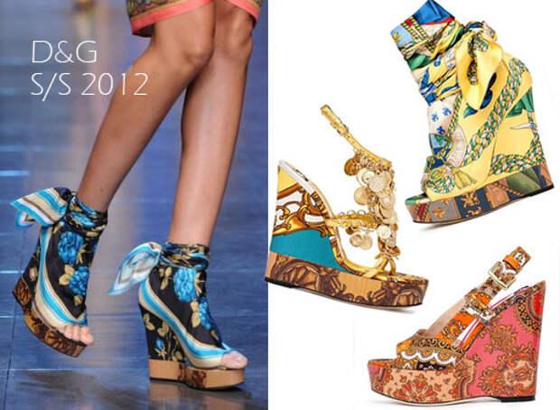 Модные тенденции на лето 2012