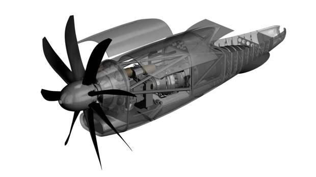 Pratt & Whitney Canada разрабатывает новый турбовинтовой двигатель