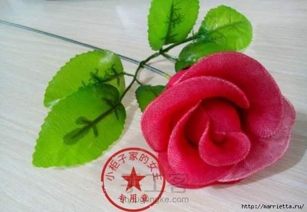 Розы из капрона. Красивые идеи и мастер-класс (84) (590x409, 101Kb)
