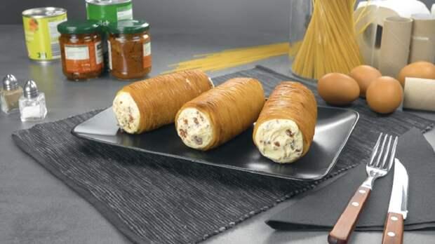 Хрустящие рогалики из спагетти: если у вас пустой холодильник