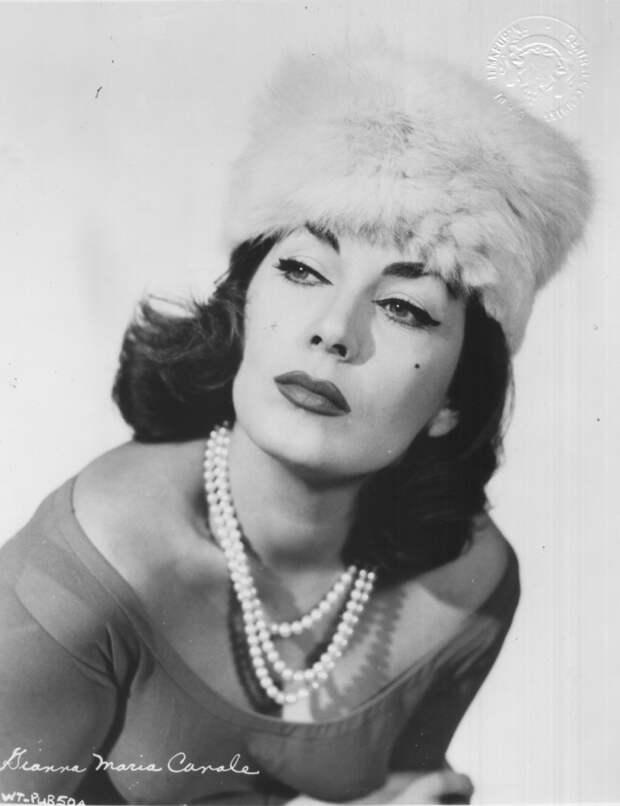 Итальянская актриса Джанна Мария Канале