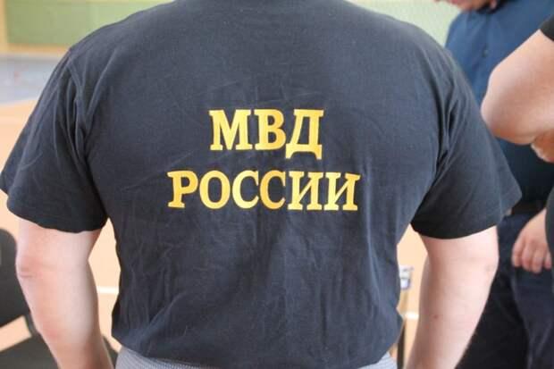 Полиция/ Фото предоставлено пресс-службой УВД САО
