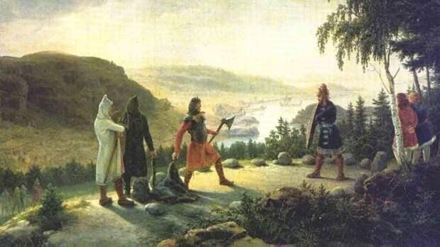 Холмганг — решение спора поединком у викингов. Если кто-то, кому был прошен вызов, не пришёл на поединок, он признавался виновным. Такого человека мог легально убить кто угодно, даже раб