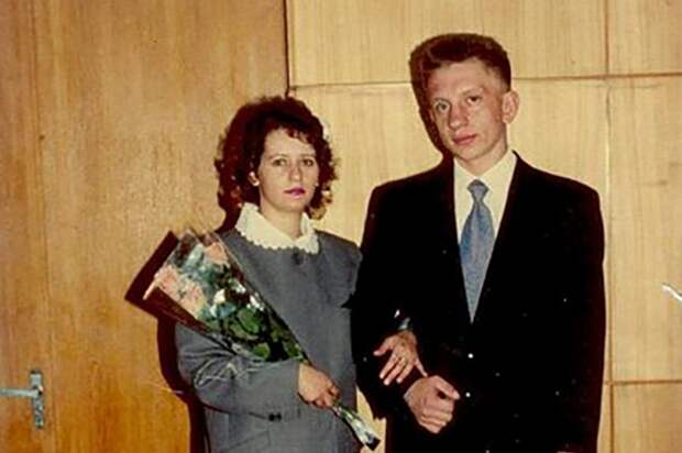 Алексей Фомкин с женой