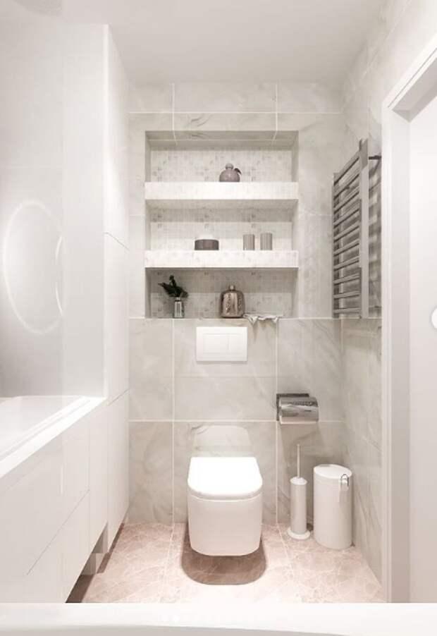 Хранение в ванне может быть недорогим и красивым.