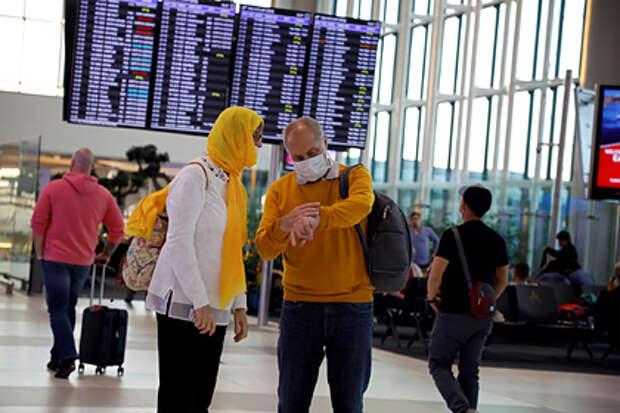 Россия решила приостановить авиасообщение с Турцией