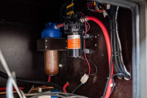 Система забора воды имеет встроенный фильтр для очистки. В целом можно набирать воду хоть с пруда. авто, внедорожник, газ, газ-66, грузовик, дом на колесах, кемпер, обзор
