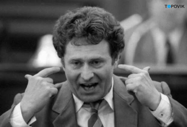 1991г. В.Жириновский дает интервью А.Невзорову как кандидат на пост президента РСФСР
