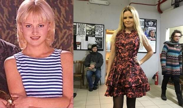 33 фото популярных российских телеведущих в юности и сейчас.