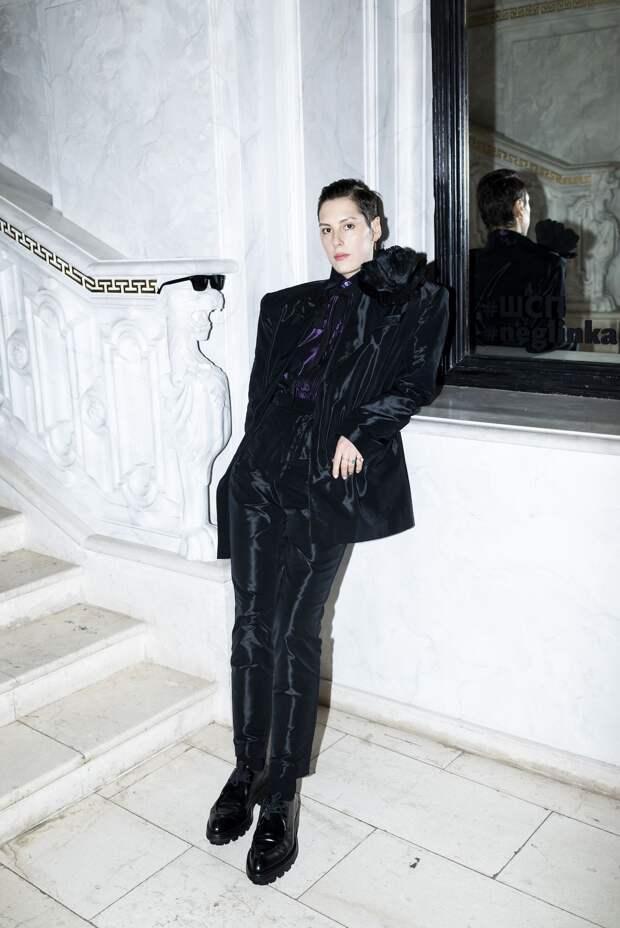 Дивы! Рената Литвинова и Ирина Горбачева на модном показе