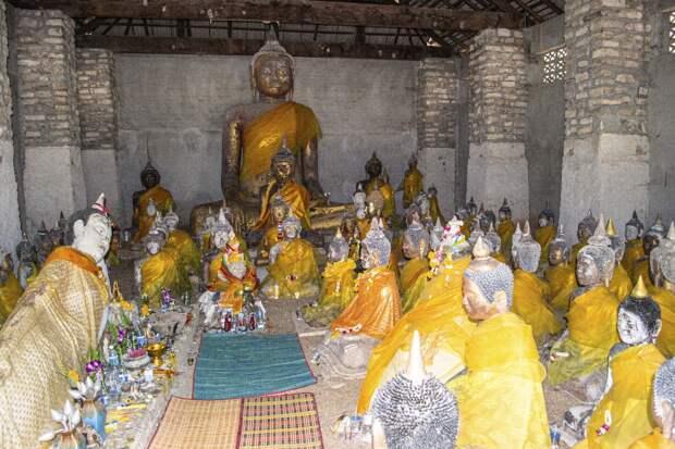 Земля, где ступала нога Будды.