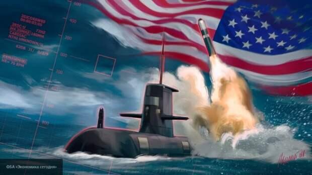 Россия готова  ответить на любой запуск баллистической ракеты с подлодок США - Захарова