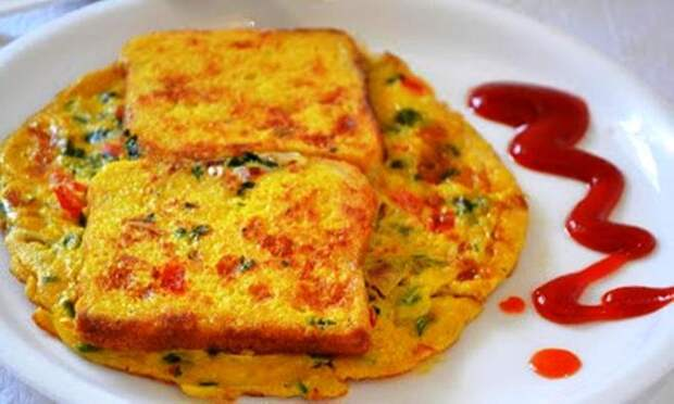 Веганский рецепт французского тоста с индийскими мотивами