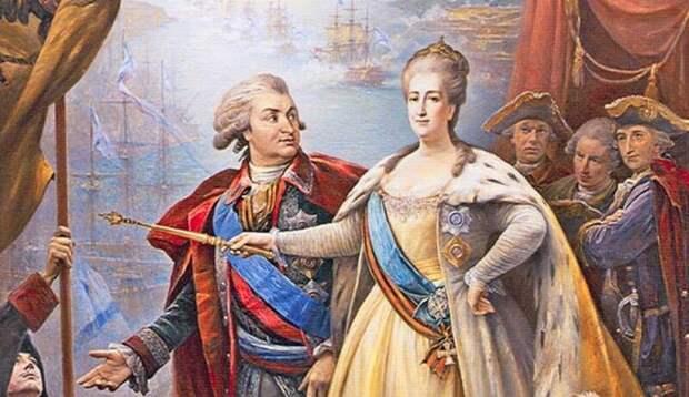 Почему ЕкатеринаII планировала ввести вРоссийской империи многоженство