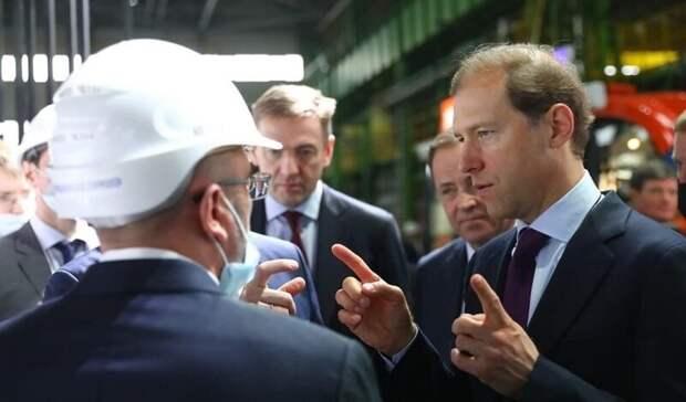Мантуров оценил проекты нижегородской верфи ОСК
