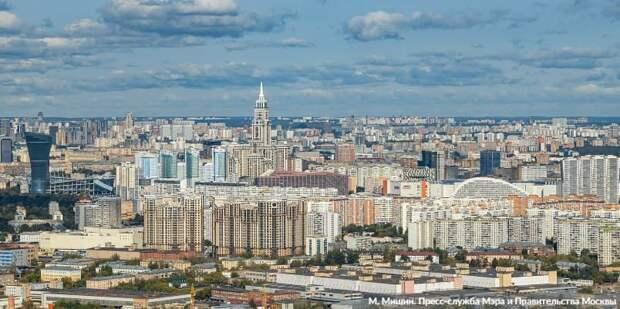Собянин: Каждый человек из моей команды в случае избрания будет отстаивать интересы москвичей. Фото: М. Мишин mos.ru