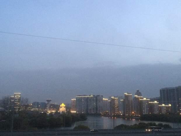 Фото дня: вечер в Красногорске