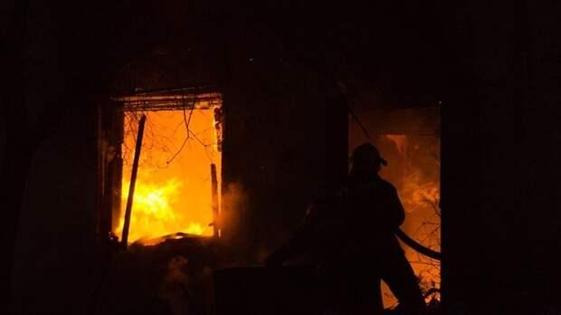 В Ивановской области произошёл пожар в неэксплуатируемом здании