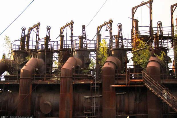 Прогулка по храму индустриальной эстетики