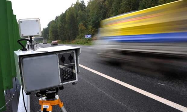 радар-детектор нового поколения определяет камеру по сигналу излучения