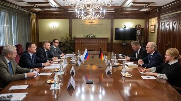 Новак обсудил со Спецпредставителем Германии транзит российского газа