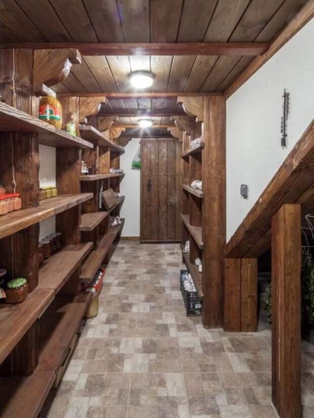 Какой материал выбрать для отделки пола в подвале частного дома