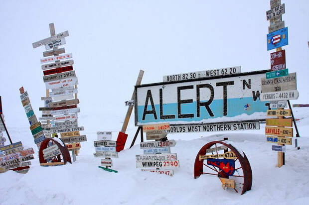 Алерт — самое северное место на Земле, где постоянно живут люди