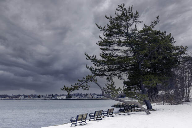 Winter sky - 3508 by Ron Calder on 500px.com