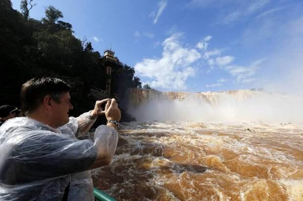 Iguazu 3 Захватывающие дух водопады Игуасу