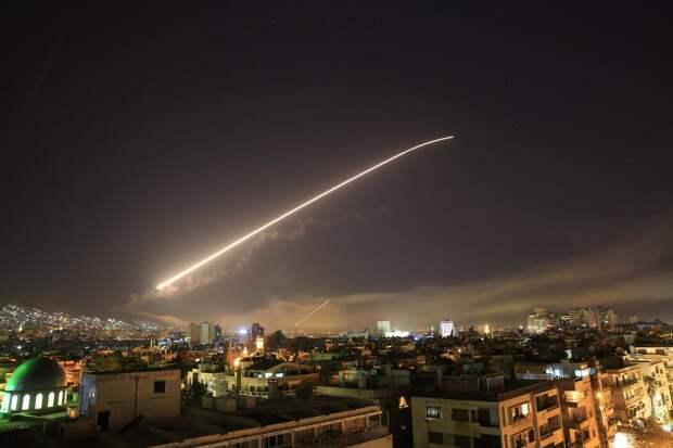 СРОЧНО: По Дамаску нанесён удар, гремят мощные взрывы (+ФОТО, ВИДЕО)