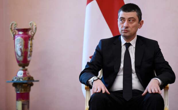 Премьер Грузии объявил об отставке из-за ареста оппозиционного политика
