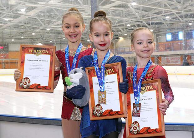Фигуристки из Марьина стали призерами Первенства города
