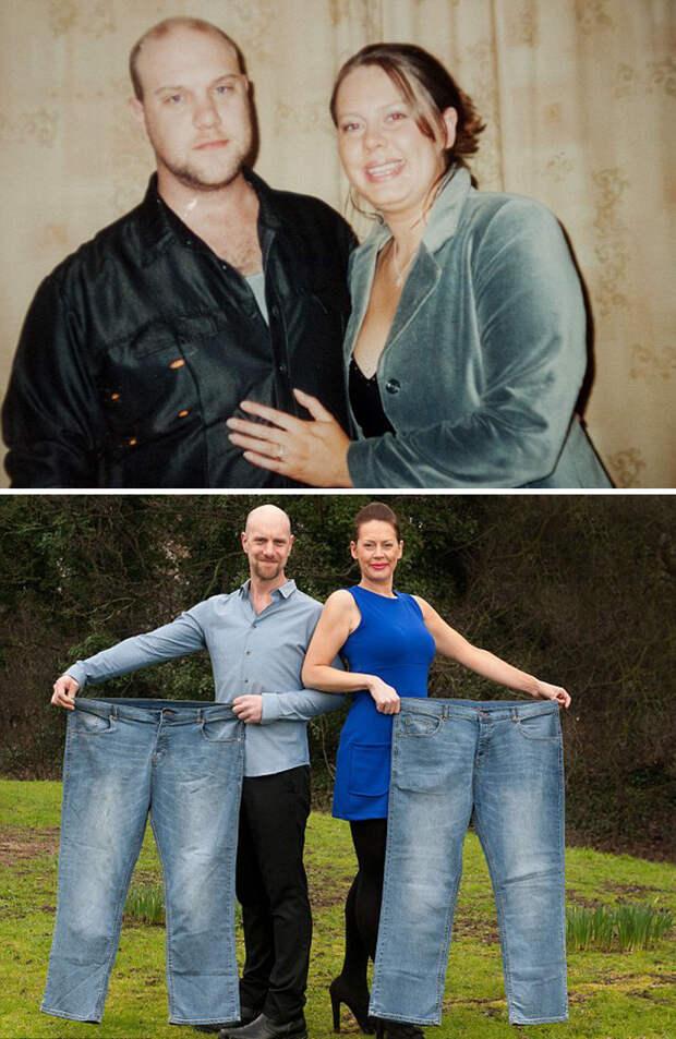 Мишель и Пит потеряли по 40 килограммов диета, лишний вес, похудение