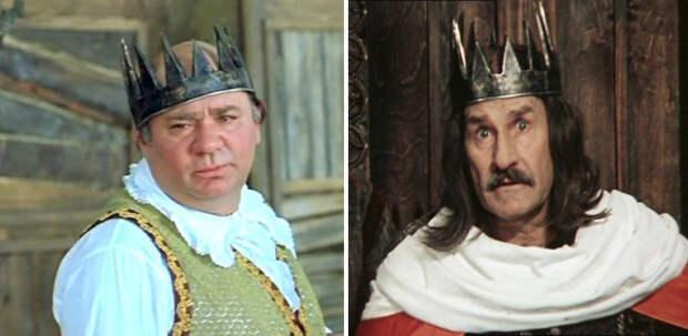 Одинаковый реквизит и костюмы из разных советских фильмов