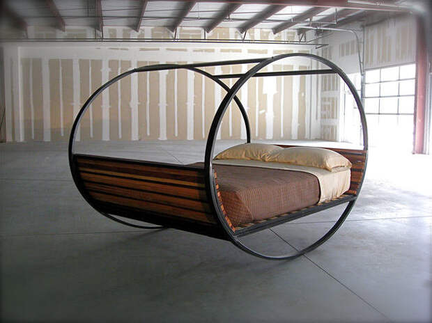 Любителям необычного. Советы по выбору оригинальной кровати
