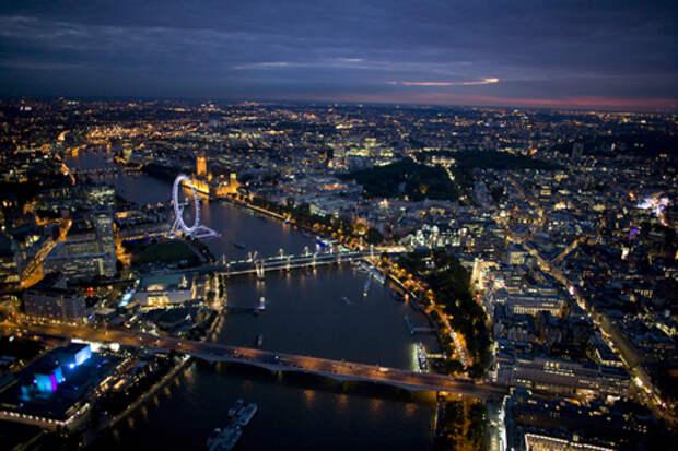 Панорама вечернего Лондона