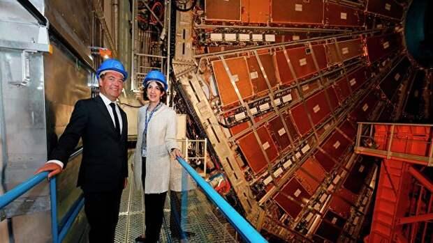 Россия готова участвовать в модернизации Большого адронного коллайдера