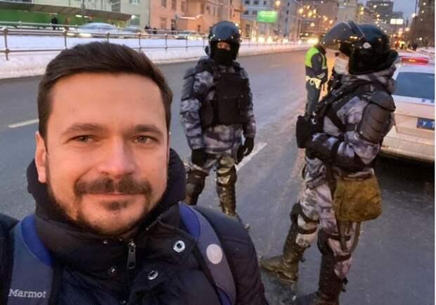 Илья Яшин арестован на десять суток
